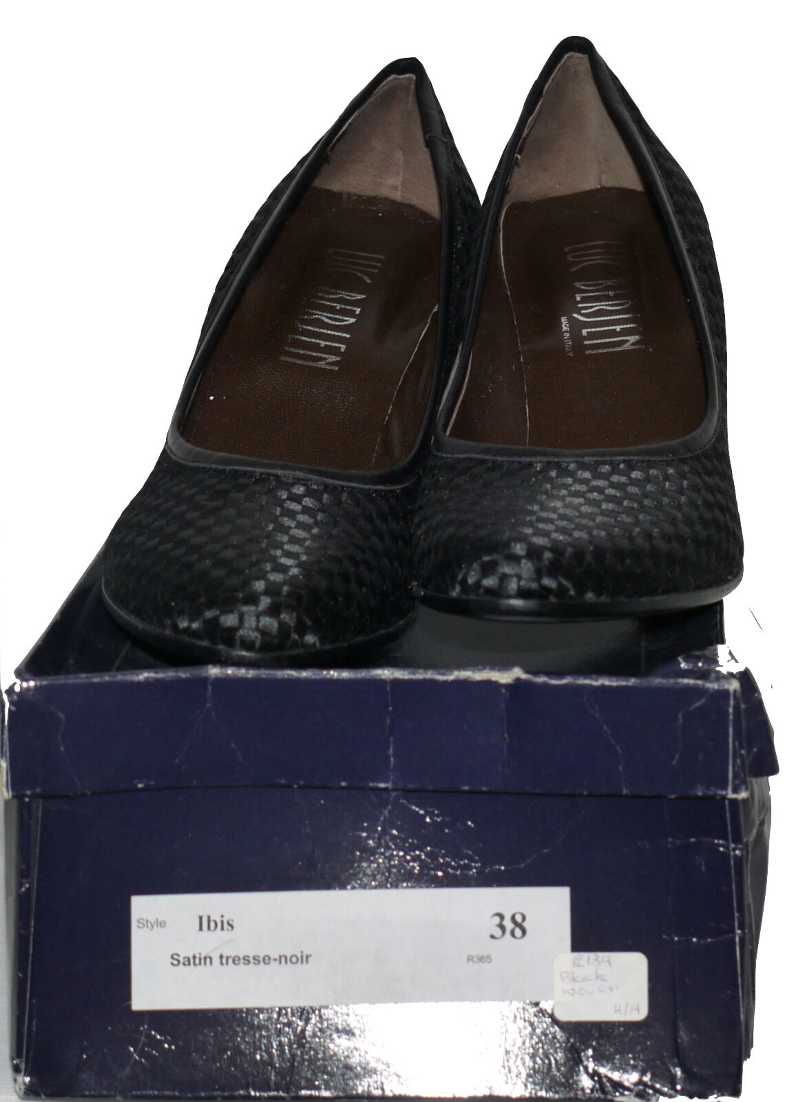 Luc Berjen Ibis Tejido Tacón Alto Court SP zapatos Varios Colors Tamaños Nuevo en Caja SP Court 9abd63
