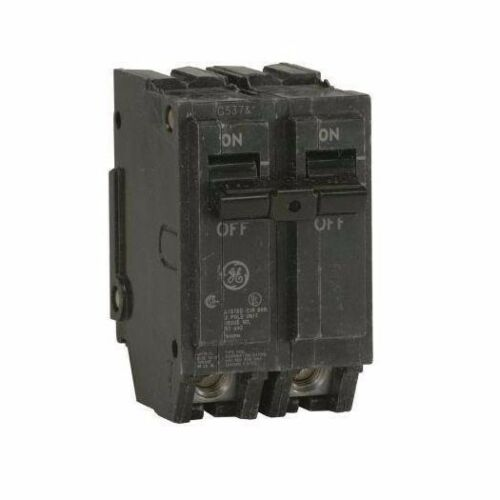 GE THQL2115 Circuit Breaker Double Pole 15 Amp Thick Series