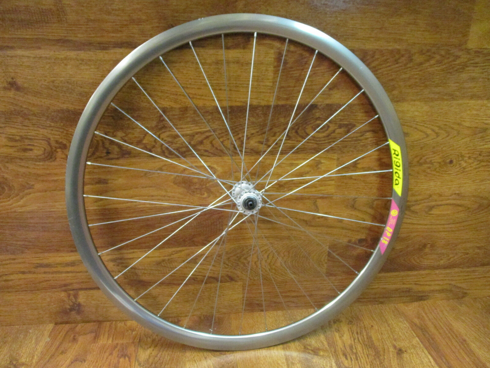 VINTAGE RIGIDA DP-18 700C CLINCHER gold AERO SHIMANO 105  HUB FRONT WHEEL  online shopping and fashion store