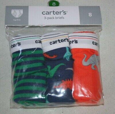 New Carter/'s 7 Pairs Underwear Boys Briefs NWT 2 3 4 5 6 7 8 12 14 Animals Dog
