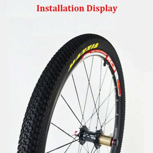 Pair MAXXIS Tyres Tires Bike Bicycle MTB Folded//Not Folded 50//53mm Width 60TPI