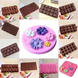 Silikon Schokolade Kuchen Dekorieren Sussigkeiten Kekse Backen Form