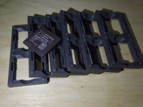6 pcs Designed for collectors Tray Holder for CPU 486 Plastic