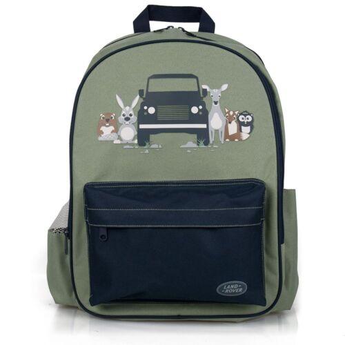 Genuine Land Rover Green Children/'s Backpack Rucksack