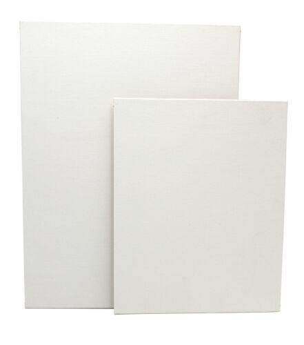 Malkarton mit Qualitäts-Leinwand 320gr//m² bespannt malfertig grundiert Malpappe