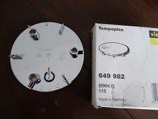 Viega Tempoplex Ausstattungsset Ø 115 Abdeckung Abdeckhaube 6964.0 560799 649982