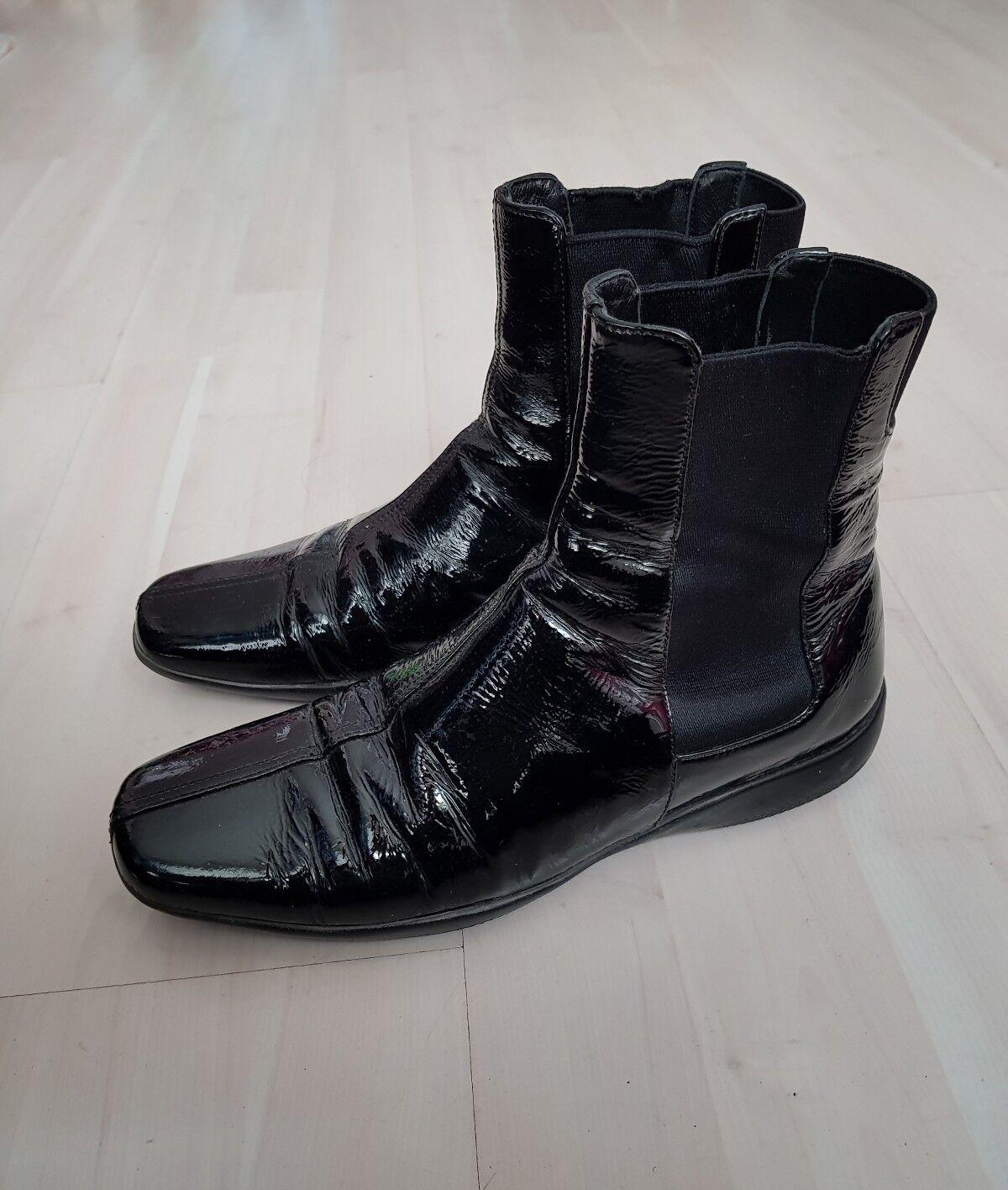 Prada Stiefel Größe 37 getragen getragen 37 3a212b