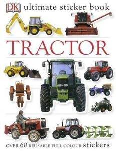 Tractor-Ultimate-Sticker-Book-Ultimate-Stickers-by-Dorling-Kindersley-Paperb