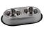 DOUBLE-DINER-SET-S-M-L-Non-Slip-Dog-Cat-Food-Water-Bowls-dm-Metal-Dish thumbnail 3