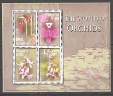 Blumen Orchideen Guyana 7897/7900 postfrisch