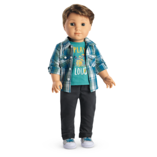 American Girl Contemporary Character Logan Everet Performance Doll Jacket Only