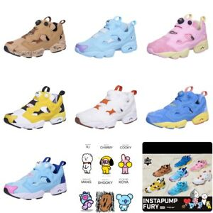 b0ed27171eb2 Reebok x BT21 INSTAPUMP FURY Shoes Sneakers DV9873 SZ5-8 BTS Limited ...