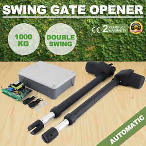 Double-Actuator-Swing-Gate-Opener-Operator-1000KG-Control-Box-230V-Automatic