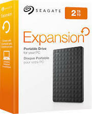 2TB Seagate Expansion External HardDisk Drive 2.5''Usb 3.0 HDD STEA2000400**