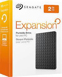 Seagate 2TB Expansion External Hard Disk (STEA2000400)