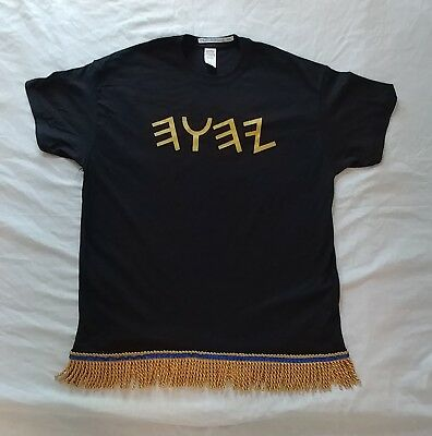 Hebrew Israelite T-Shirt /& Premium Fringes in Ancient Paleo Hebrew