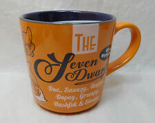 Disney Kaffeetasse Tasse Mug Pott Kaffee Disneyland Paris Retro 7 Zwerge Grumpy