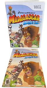 Madagascar Kartz,  W Manual Nintendo Wii Game
