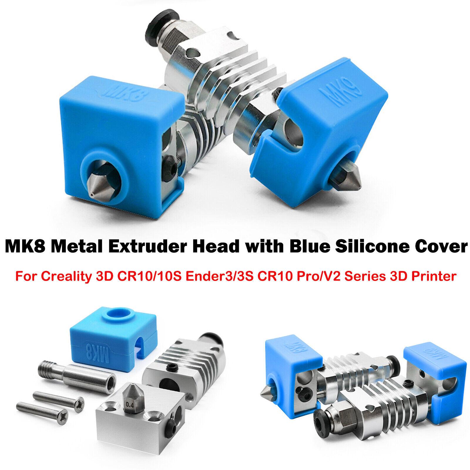3D-Drucker MK8 Metall-Extruderkopf Für 3D CR10 /10S Ender3/ 3S CR10 Pro/V2-Serie