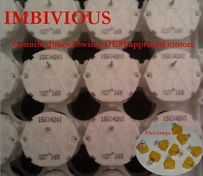 7 qty X27.168 motors 10free SMD50 lamps for GM inst-cluster repairs.....