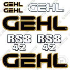 Gehl Rs8 42 Decal Kit Telescopic Forklift Rs8 42 Replacement Stickers Older