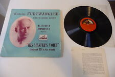 BEETHOVEN SYMPHONY N°6 HMV UK .LP FURTWANGLER ALP 1041. VIENNA PHILHARMONIC.