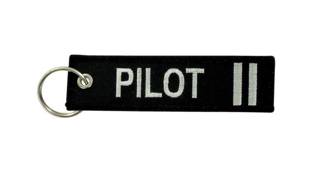 a6358c42b1b Remove before flight keyring keychain captain gold crew 2 silver stripe  pilot