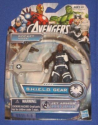 Avengers Nick Fury 3 3//4 movie figure MINT ON CARD