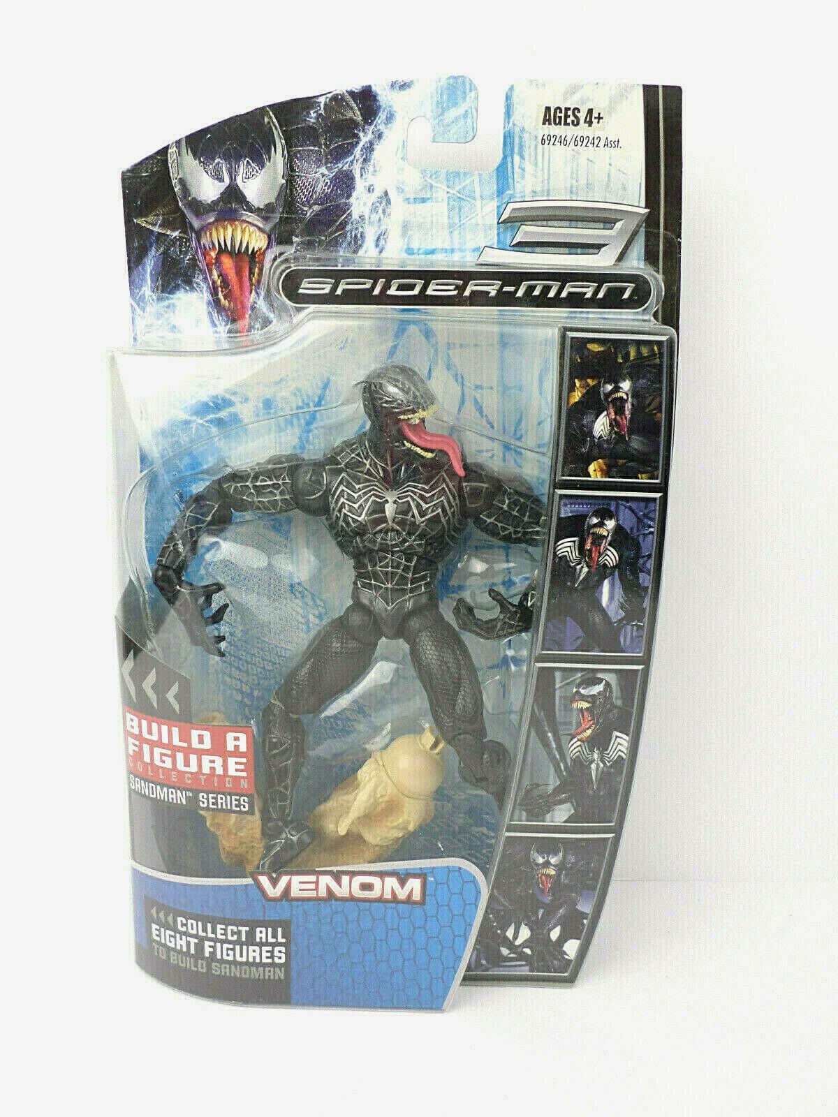 Venom Spider-Man 3 Sandman Series Build-a-Figure - Hasbro Factory Sealed 2007