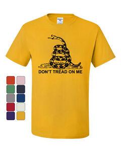 Don-039-t-Tread-On-Me-T-Shirt-Gadsden-Flag-Political-Patriot