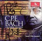 C.P.E. Bach: Chamber Sonatas (CD, Mar-1998, Centaur Records)