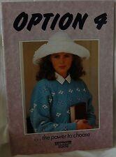 Option 4 / LK150 Knitmaster Silver Machine Knitting Pattern Book - M706