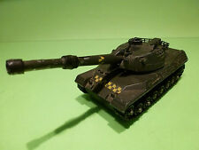 DINKY TOYS 692  LEOPARD TANK - ARMY GREEN - GOOD  - MILITARY GERMANY