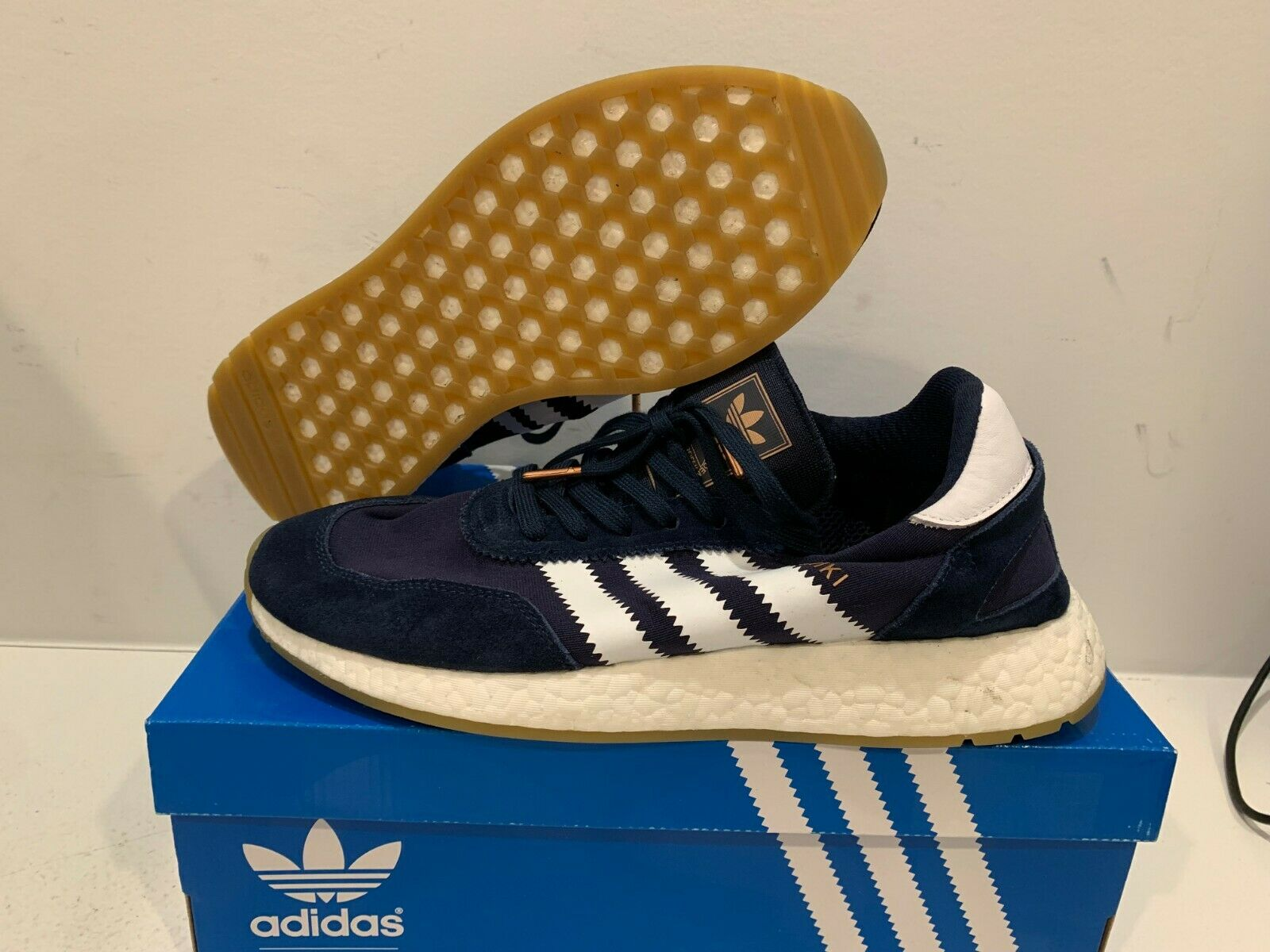 Adidas Iniki Runner  Collegiate Navy  Size 9.5 (Offer)