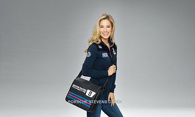 Porsche Laptop Bag Bag Shoulder Strap MARTINI RACING Collection Black Red Blue