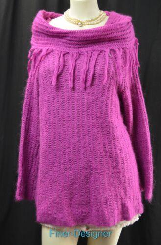 Pullover Mohair Vtg Neck Tunika Cowl New L Fuzzy Avon Sweater Silk Sz Cabriolet wIA8nq7