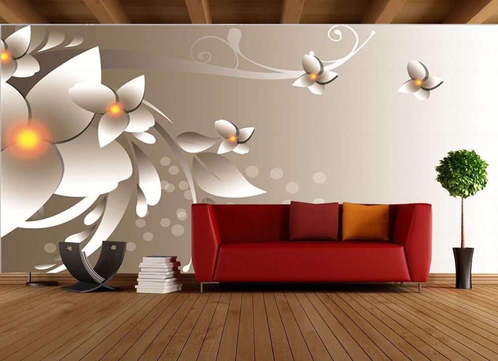 3D Poire Aromatique Photo Papier Peint en Autocollant Murale Plafond Chambre Art