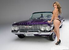 "Hot Rod Muscle Car Mini Poster 13""x19"" HD"