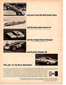 1966-BARRACUDA-HURST-HEMI-UNDER-GLASS-HURST-HAIRY-OLDS-ORIGINAL-PRINT-AD