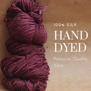 Ramasse la dernière tendance couleurs spécial Dye 100/% fil de soie pour tricot C13