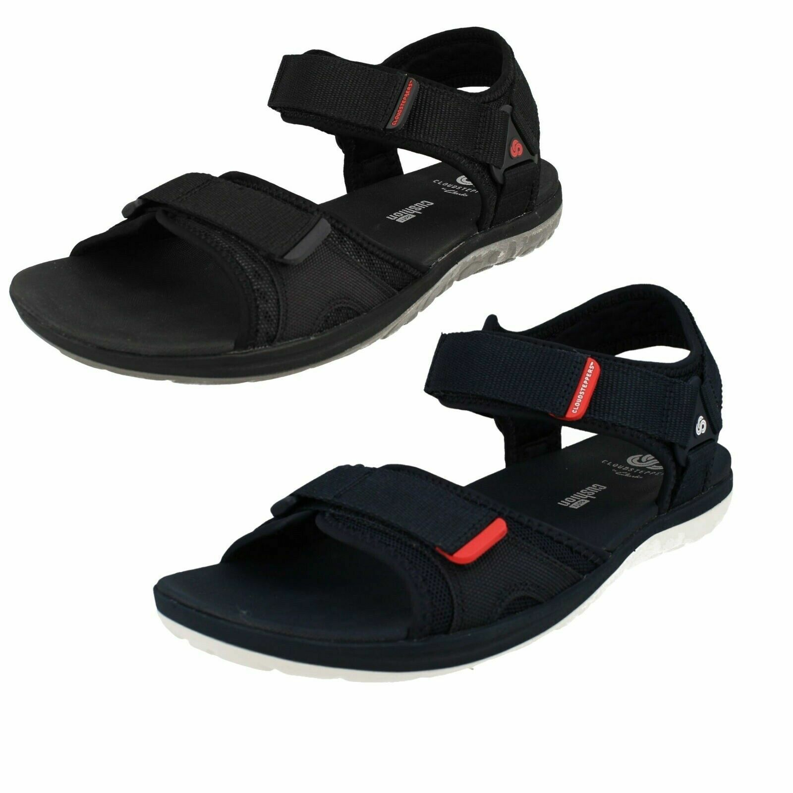 Mens Clarks CloudSteppers 'Step Beat Sun' Casual Strap Sandals