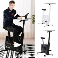 Deals on 2-in-1 Stationary Exercise Bike and Tabletop Workstation