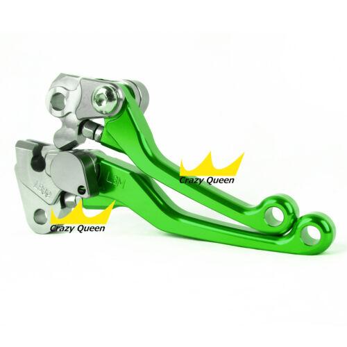 Levers For Kawasaki KX450F 2006-2012 CNC Dirt Pit Bike Pivot Brake Clutch US Set