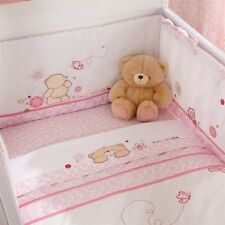 Forever Friends Izziwotnot Baby Bedding Beautiful Pink Girls Cot Bed Bumper