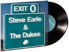 Steve Earle & The Dukes Exit 0 LP Vinyl