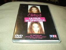 """DVD """"AXELLE LAFFONT - LA FOLIE DU SPECTACLE"""" au Bataclan"""