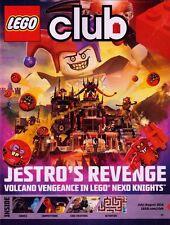 Lego Club Magazine July-August 2016 Jestro's Revenge LEGOLAND FREE ENTRY FOR KID