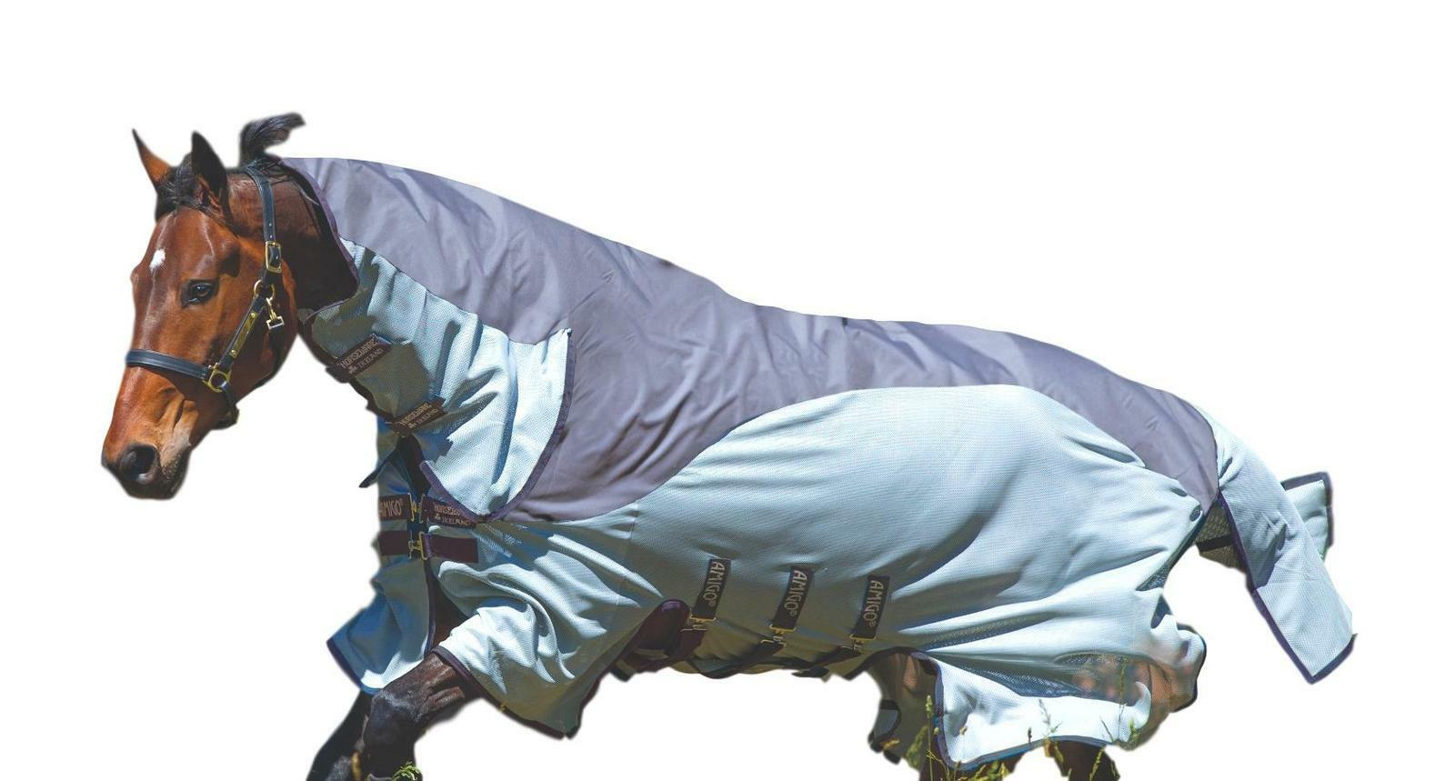 Horseware Ireland Amigo 3in1 Turnout Fly Sheet 600D UV Predection Breathable