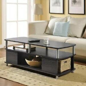Wooden Coffee Table Living Room Furniture Center Table Sofa Table Storage Mod