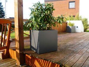 Gut gemocht Blumentopf außen, 70x70x70 cm., Stahl, pulverbeschichtet VX02